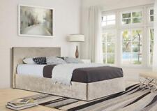 Crushed Velvet Ottoman Storage Bed Frame 3ft Single 4ft6 Double & 5ft King Size
