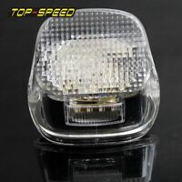Motorcycle Clear Lens LED Brake Tail Light For Harley Road King Electra Glide