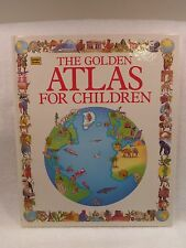 VTG & NEW The Golden Atlas for Children 1994 by Golden Books Publishg Hardcover