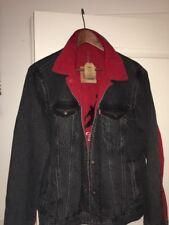 Jordan X LEVIS jacket Reversible Trucker BlackSize(S;M)with recept.