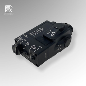 Airsoft PEQ DBAL-MINI Red Laser IR Pointer / Light Aimming Device - METAL ESSR