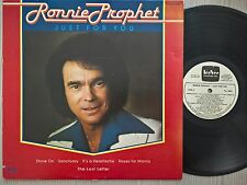 DISCO LP VINILE - RONNIE PROPHET - JUST FOR YOU - 1978 TEE VEE TA-2004 CANADA EX