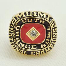 Sport Ring 1983 Miami Hurricanes Football Ring Championship Ring USA SELLER