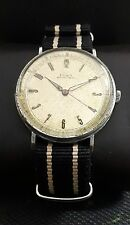 DOXA WWII 40th MILITARY LOCLE VINTAGE 38mm RARE SWISS WATCH.