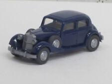 MERCEDES-BENZ 260 D in acciaio blu, volante integrato, O. OVP, Wiking, 1:87