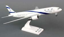 El Al Boeing 777-200 1:200 SkyMarks Flugzeug Modell B777 SKR752 ElAl Israel