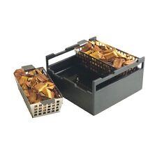 Steven Raichlen BARBEQUE Tools Immersione & Fumo Legno Chip SOAKER BOX BBQ Affumicatore Set