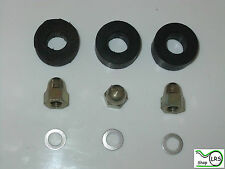 Land Rover Series Rocker Cover Rubbers Seals, Domed Nuts & Washers set