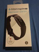 Fitbit Inspire HR Aktivitätstracker - Schwarz