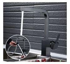 Fregadero de Cocina Grifería Cocina Grifo Negro Faucet Fitting