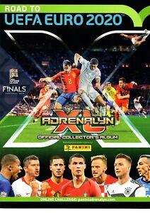 Panini Road to UEFA Euro 2020 Adrenalyn XL card no. 250-UNL18