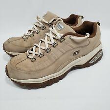 Sketchers Tan Beige Walking Shoes  Womens Size 11 11765
