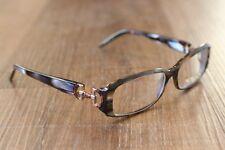 Gucci GG 3088 SVF Tortoise Metallic & Bamboo Designer Eyeglasses Frame 130 Italy