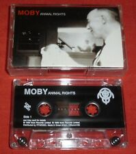 MOBY - UK CASSETTE TAPE - ANIMAL RIGHTS