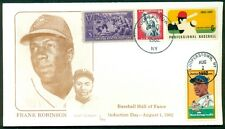 FRANK ROBINSON & JOSH GIBSON FDC Hall of Fame Induction Day - EM cachet