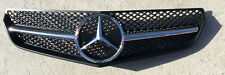 Black W207 Grille E Class 2 Door, 10-13, GRA-W207-1011W-SLN-BK,(Fits: Mercedes)