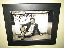 Bruce Springsteen excelente fotografía firmada impresión (8x10) en un marco encantador