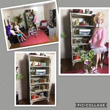 BARBIE DRESSER,FURNITURE,OOAK,DIORAMA,ARMOIRE / SHELF, CUSTOM MADE