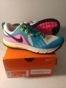 Nike Women's Air Zoom Wildhorse 5 LT Trail Shoes Sz 9.5 AQ2223100