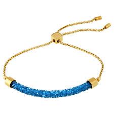Swarovski Long Beach Gold PVD Crystal Bracelet