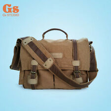 Waterproof Cavans Shoulder Bag DSLR Camera bag for Canon 5DII 500D Nikon D90