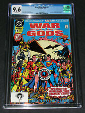 War of The Gods #1 (1991) CGC 9.6 Key 1st Issue George Perez DC Comics Y949
