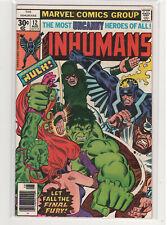 The Inhumans #1 Black Bolt Medusa Hulk 9.0