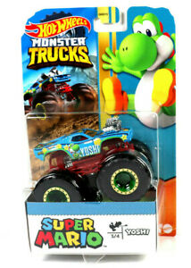 Mattel Hot Wheels Monster Trucks Super Mario LKW / GKD18 Yoshi