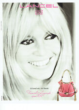 Publicité Advertising 018  2011  le sac B.B  par Lancel Brigitte Bardot *