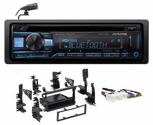 ALPINE Bluetooth CD Receiver USB/AUX SiriusXM For 1996-1999 INFINITI I30