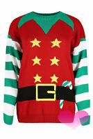 New Unisex  Christmas Jumper  Sweater For Men & Women Knitted Top