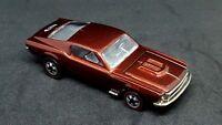 Vintage Hot Wheels Redline Custom Mustang Brown