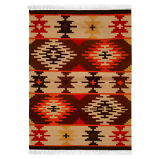 Hand Woven Wool Rug Turkish Kilim Dhurrie Persian Oriental Area Rug 3'X5' ft