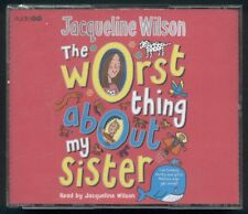 THE WORST THING ABOUT MY SISTER Jacqueline Wilson 4 CDs audio book