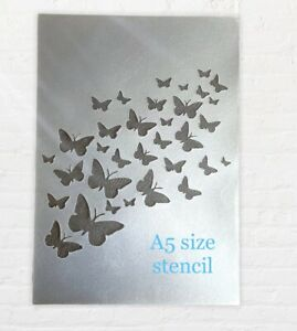 Butterfly Stencil  Butterflies  Shabby Chic  Decor Wall Furniture Template Craft