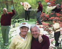 Jack Nicklaus / Arnold Palmer Golf Photo Poster Print 8x10 (REPRINT)