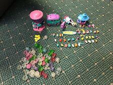 Squinkies Lot of  Assorted Figures & Accessories Playset Bride Groom Hello Kitty