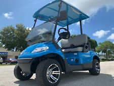 BAHAMA BLUE 2 PASSENGER SEAT ADVANCED EV GOLF CART FAST LUXURY 24 MPH CAR