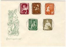 DDR - FDC - Nr. 693/7 - Gemälde - zentrischer VOLLSTEMPEL (13089/79N)
