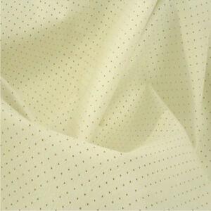 CREAM Perforated Headliner Fabric Car Headlining interior decor seating UK Sold