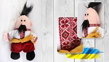 Ukrainian Soft Plush Toy Cossack Kozak Vyshyvanka Souvenir Baby Kids Children