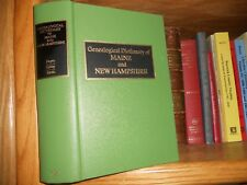 Genealogical Dictionary of Maine And New Hampshire Excellent Condition