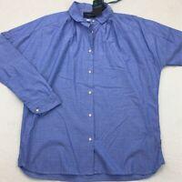 Maison Scotch Womens Button Front Shirt Blue Stripe Long Sleeve Collared 1 New