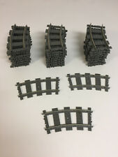 LEGO Konvolut System Eisenbahn 9V Schienen 30 Stück gebogen  9 V