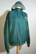 Vintage 1990's Smith & Wesson Hooded Windbreaker Jacket Mens Size L Green