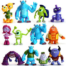 12 PCS Monsters Inc. Monsters University Mike Sully Action Figure Toy gift cute