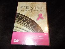 NEW SEALED DVD THE CEMM VIRTUAL LIBRARY Women's Health BREAST DISEASES Cancer