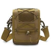 Molle Tactical Sling Shoulder Bag Waist Pack Messenger  Pouch Holster Backpack
