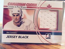 2010-11 Itg Canadian Cloth Team Canada Vs The World Eric Lindros #CCM15