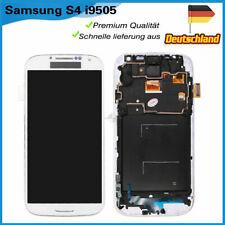 LCD für Samsung Galaxy S4 i9500 i9505 Display Touchscreen Glas Mit Rahmen Weiss